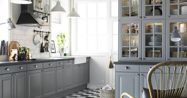 W domu Marty Szara kuchnia z IKEA -> Szara Kuchnia Z Ikea