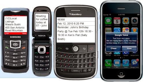 satu klik, beribu SMS di hantar