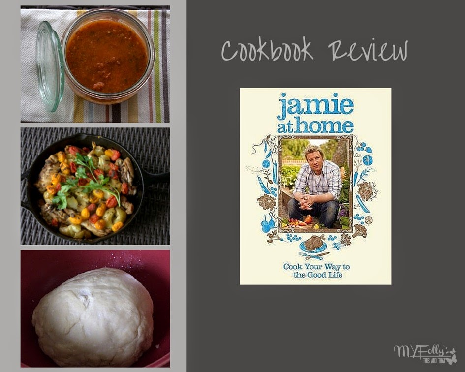 Jamie at Home Cookbook Review/ This and That #cookbookreview #recipes