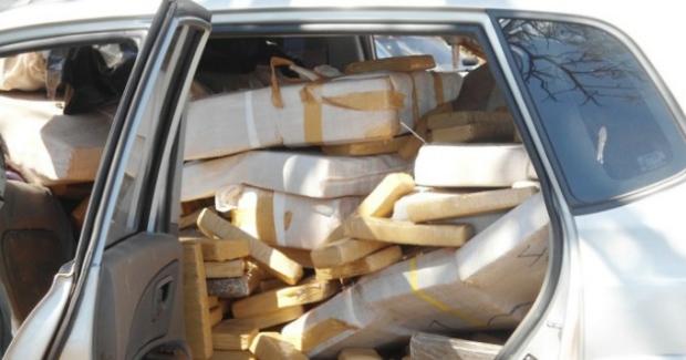 Homem morre esmagado por tabletes de maconha no Mato Grosso do Sul