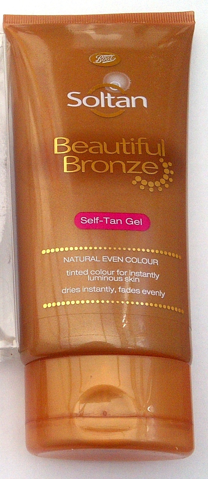 Boots soltan beautiful bronze self tan gel - review