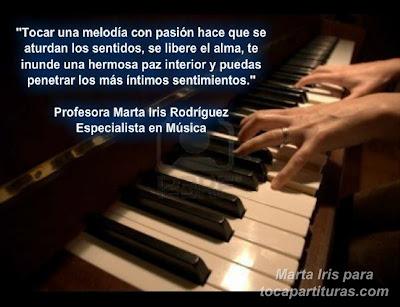 15. Paz interior 10 Reflexiones, frases y pensamientos musicales por la Profesora Marta Iris Rodríguez Números 11-20