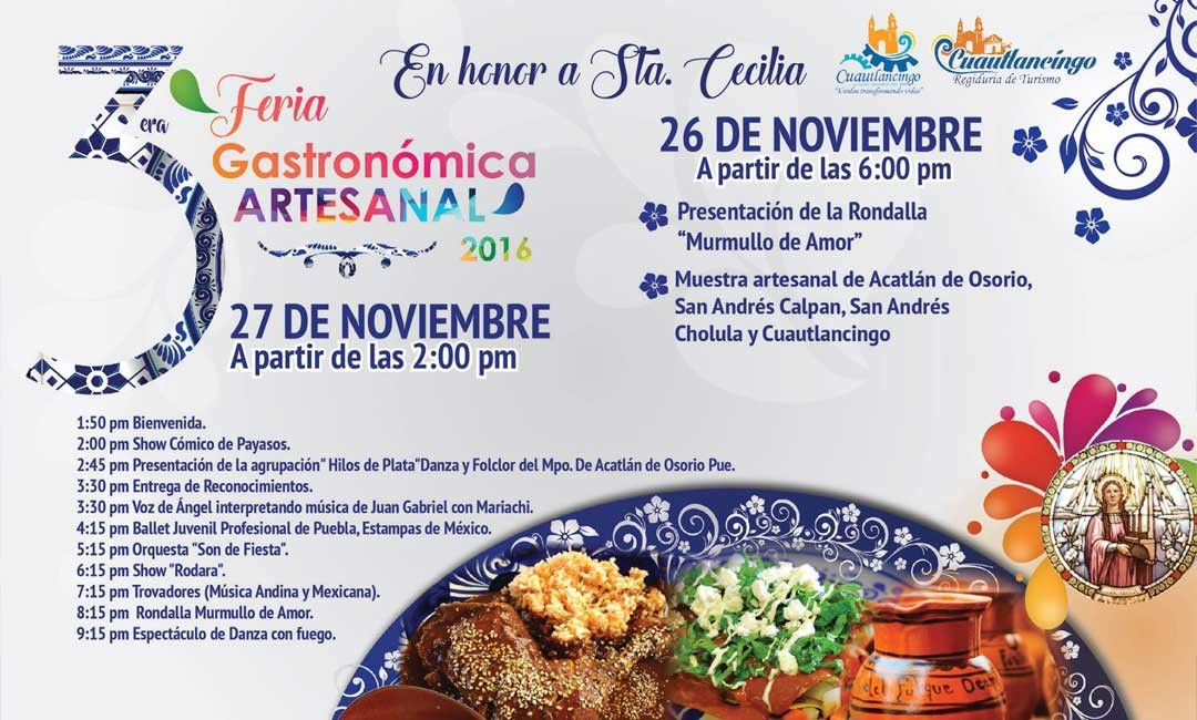 Cuautlancingo festeja a Santa Cecilia