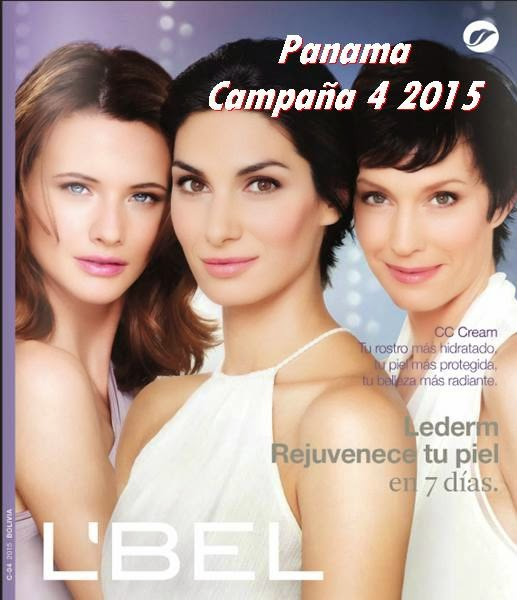 Lbel catalogo 4 de Panama 2015
