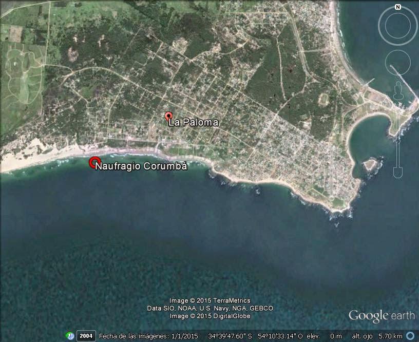 Naufragios Uruguay