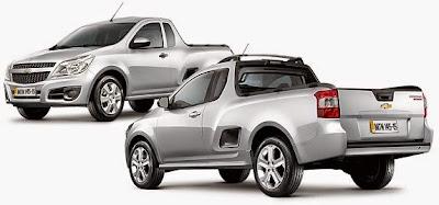 Novo Chevrolet Montana 2015 Fotos e Vídeos  iCarros