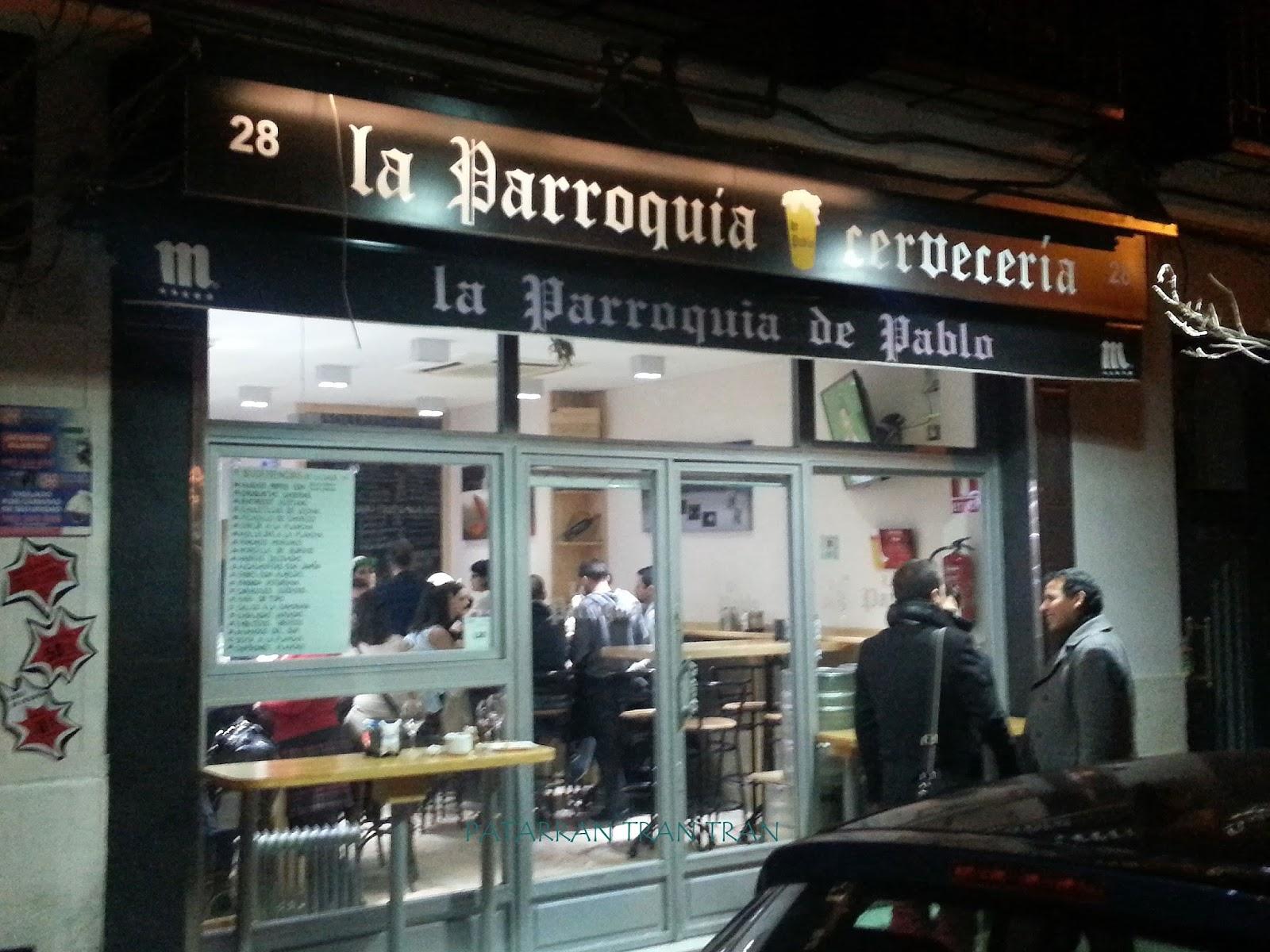 La Parroquia de Pablo. Inspeccion Tabernaria. Calle Ponzano y aledaños