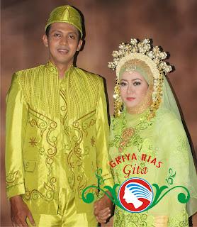 pasangan pengantin melayu modifikasi