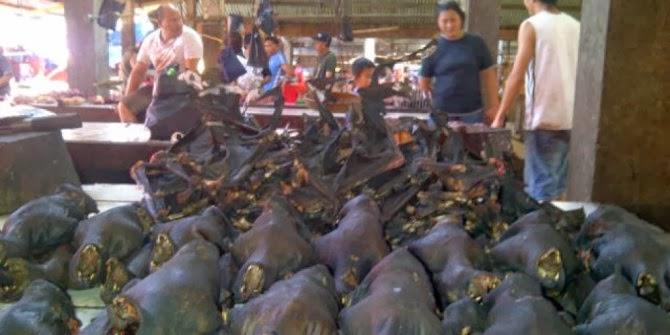 Pasar Tradisional Beriman Tomohon