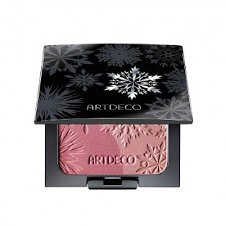 artdeco, artdeco makeup, artdeco arctic beauty blush, ice garden, review, makeup, beauty
