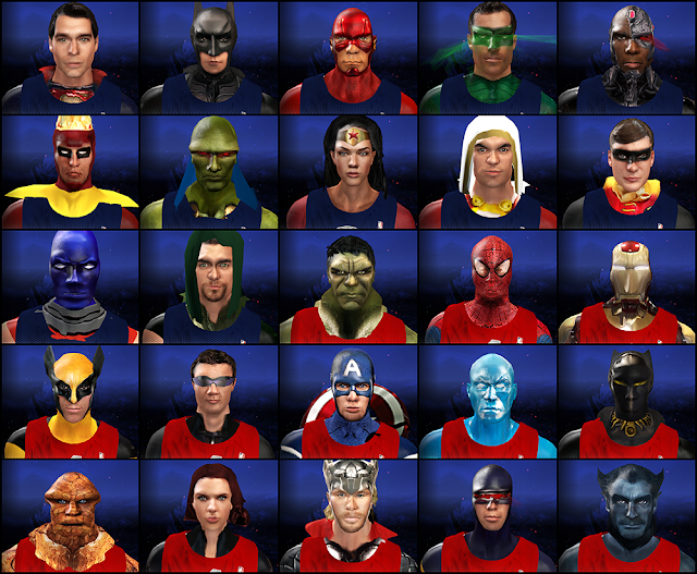 NBA 2K14 Super Heroes Mod