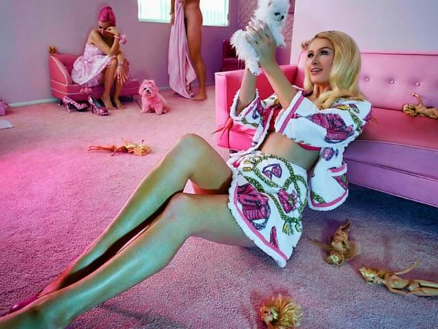 Paris Hilton en Odda Magazine