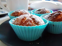 Rezept: Kokos Muffins / Recipe: Coconut Muffins | http://panpancrafts.blogspot.de/