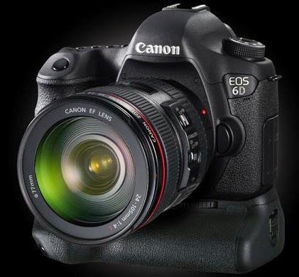 Spesifikasi dan Harga Kamera DSLR Canon EOS 6D