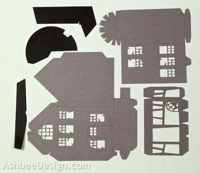 ashbee design: diy a haunted mansion