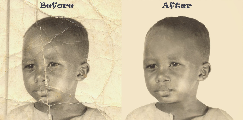 Photo Restoration Service on Fiverr: Old damaged photo restoration ...