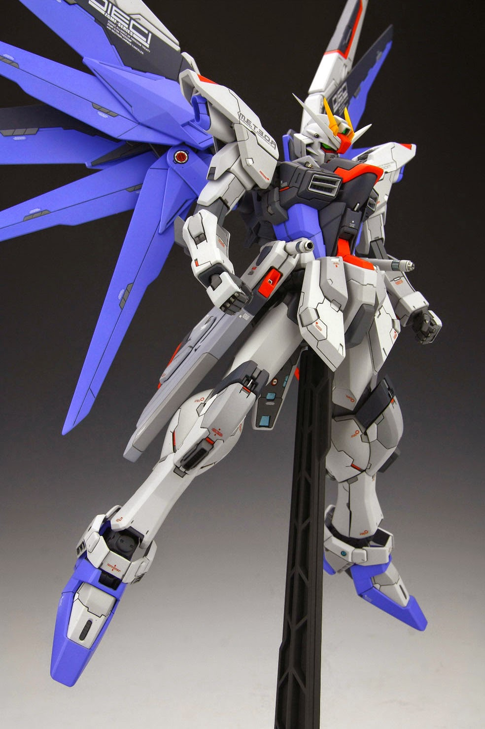 "Custom Build: MG 1/100 Freedom Gundam ""Improved"""