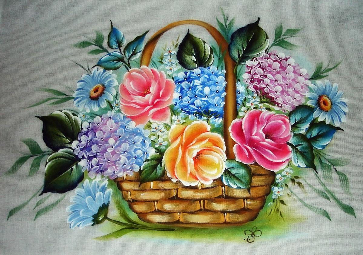 Vida Melhor Artesanato: Flores em tecido (Silvia Bistekka  - Fotos De Flores Em Tecido