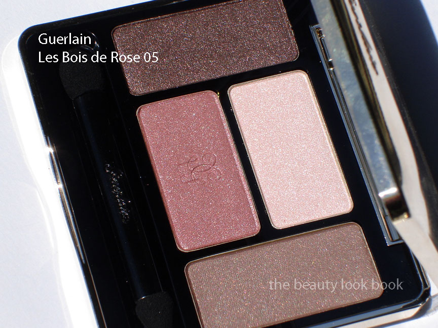 guerlain les bois de rose 04 crin 4 couleurs the beauty look book. Black Bedroom Furniture Sets. Home Design Ideas