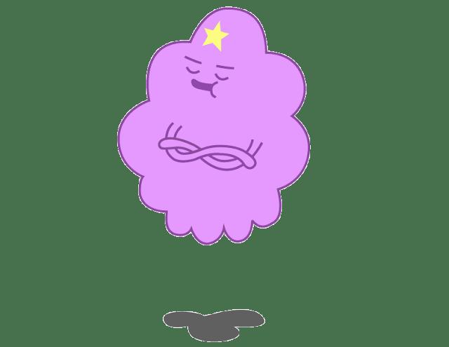 Desenho Princesa Caroço Hora de Aventura colorido