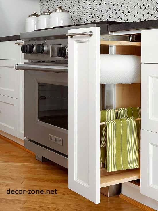small kitchen storage ideas for kitchen towel