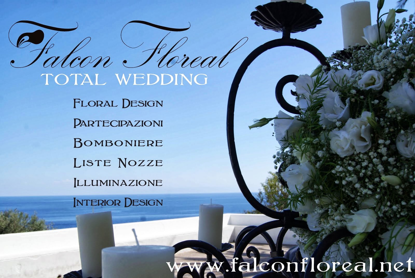 FALCON FLOREAL – TOTAL WEDDING