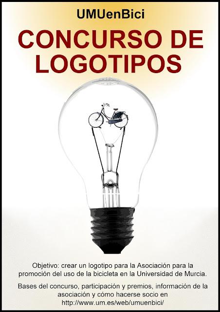 """Concurso: """"diseño de un logotipo para la Asociación para la Promoción del Uso Bicicleta en la Universidad de Murcia (UMUenBici)"""""""