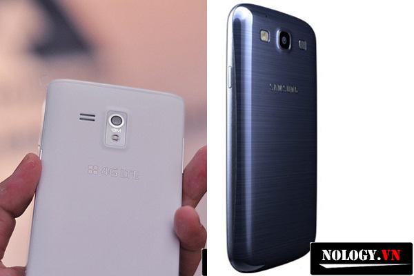 hình ảnh nắp lưng điện thoại sky a840 và samsung galaxy s3