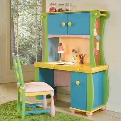 Kids study room decor for Table for kids room