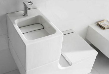 Unique Water Closet for Bathrooms or Toilets