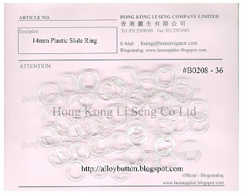 Plastic Slider Ring Supplier - Hong Kong Li Seng Co Ltd