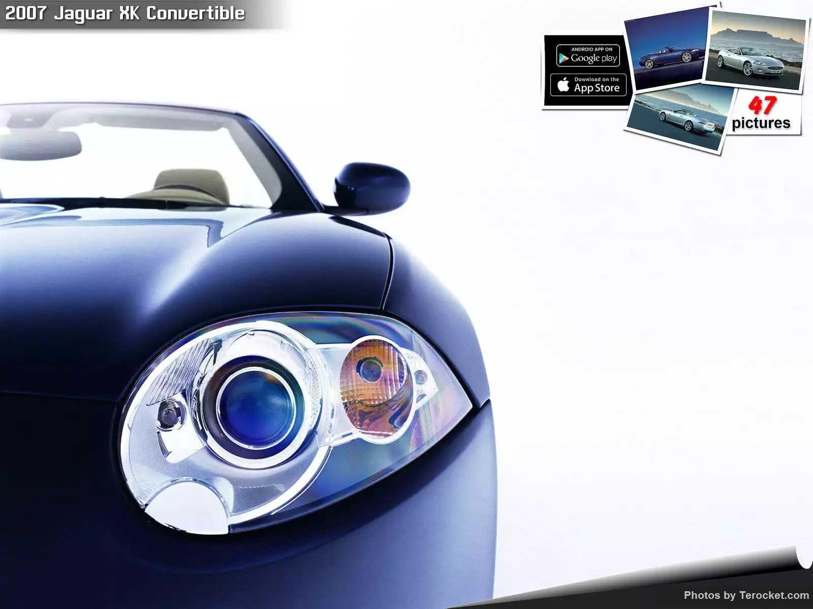 Hình ảnh xe ô tô Jaguar XK Convertible 2007 & nội ngoại thất