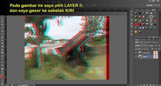 Membuat Efek 3D Pada Foto Dengan Photoshop