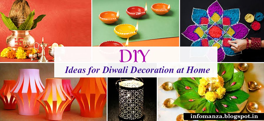 City clean group 14 best diwali decoration ideas to for Ideas for home decoration on diwali