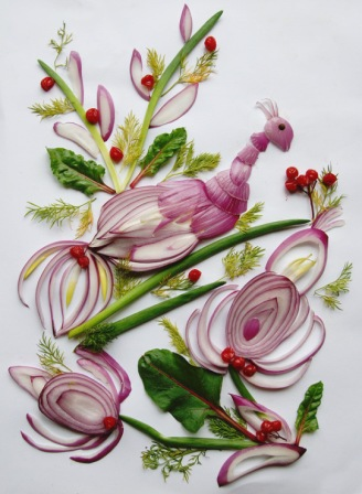 Tamara Bondar amazing onion art
