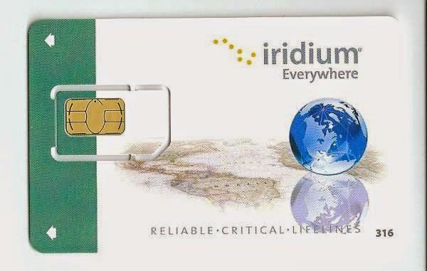 SIM карта эфирного времени Iridium 220 минут на 12 месяцев с возможностью оплаты продления