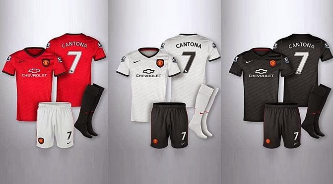 Manchester United New Jersey 2014/15