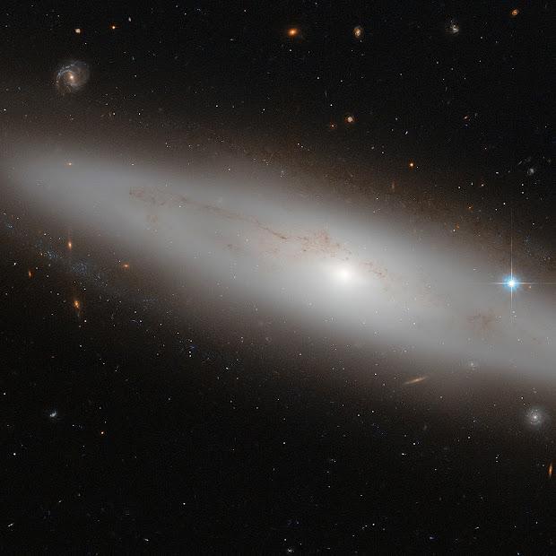 Lenticular Galaxy NGC 4866