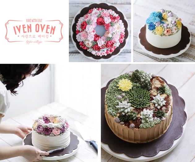 flower cake ivenoven