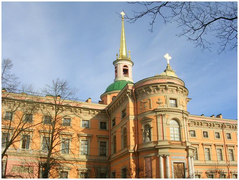 Санкт-Петербург Михайловский замок