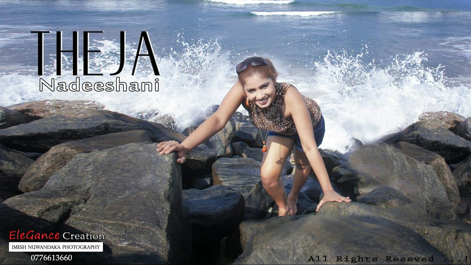 THEJA NADEESHANI beach