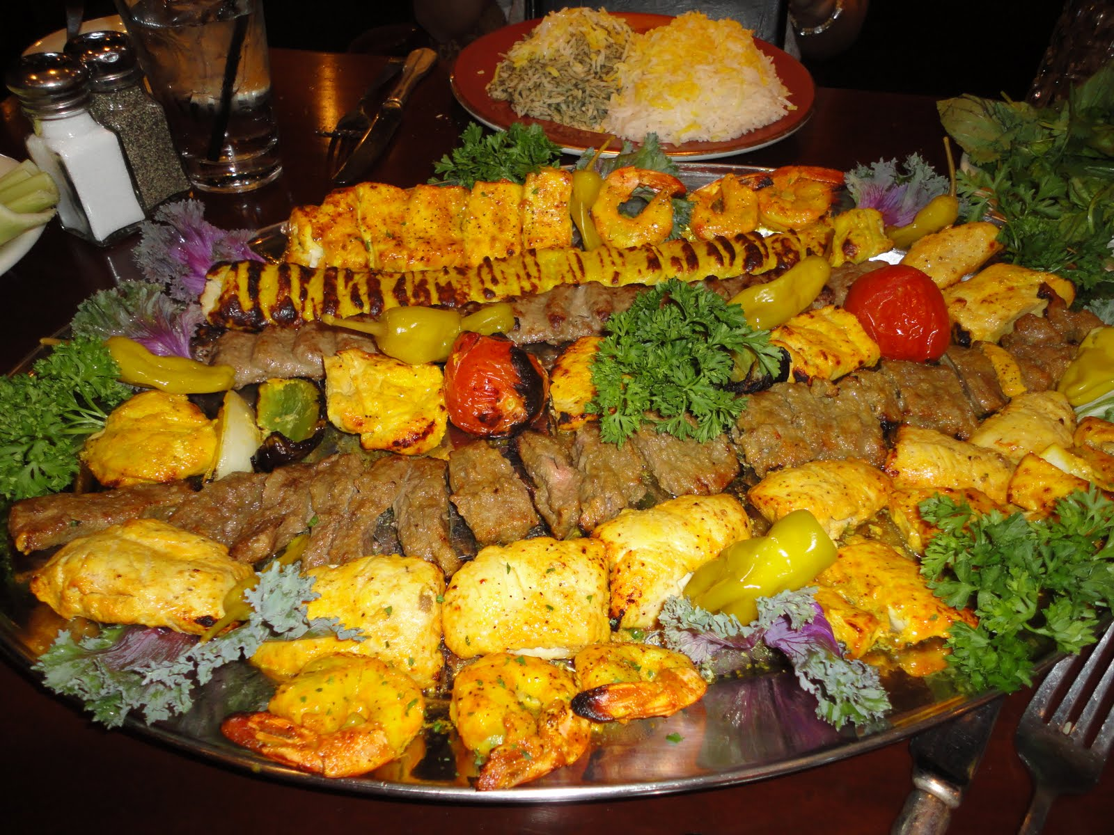 the persian room gluten free menu feature and review this