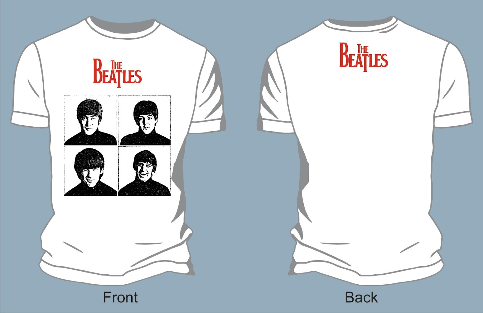 the_beatles-portrait_vector