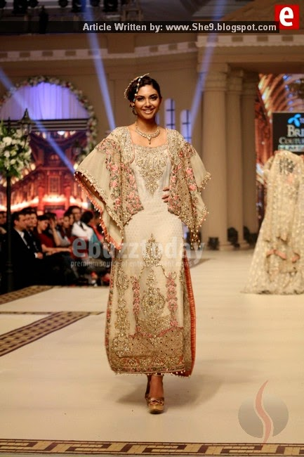Telenor Bridal Couture Week Fashion Show 2014 Day-1