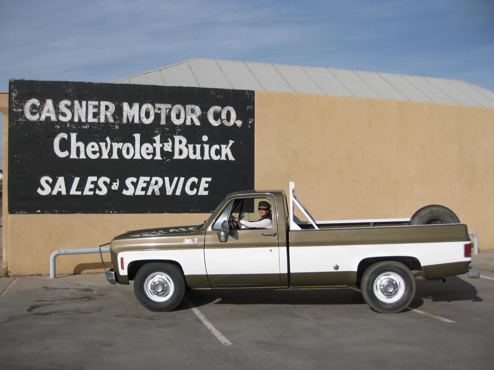 autoliterate: 1975 GMC Sierra Grande 15: Marfa & Maine