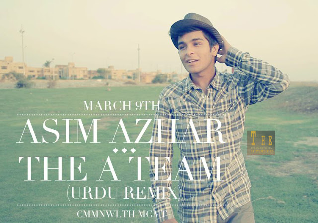 The A Team - Asim Azhar - Song