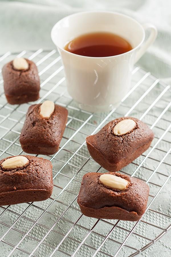 ricetta financier al cacao e farina di riso senza glutine