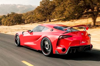 Toyota FT-1 Rearview