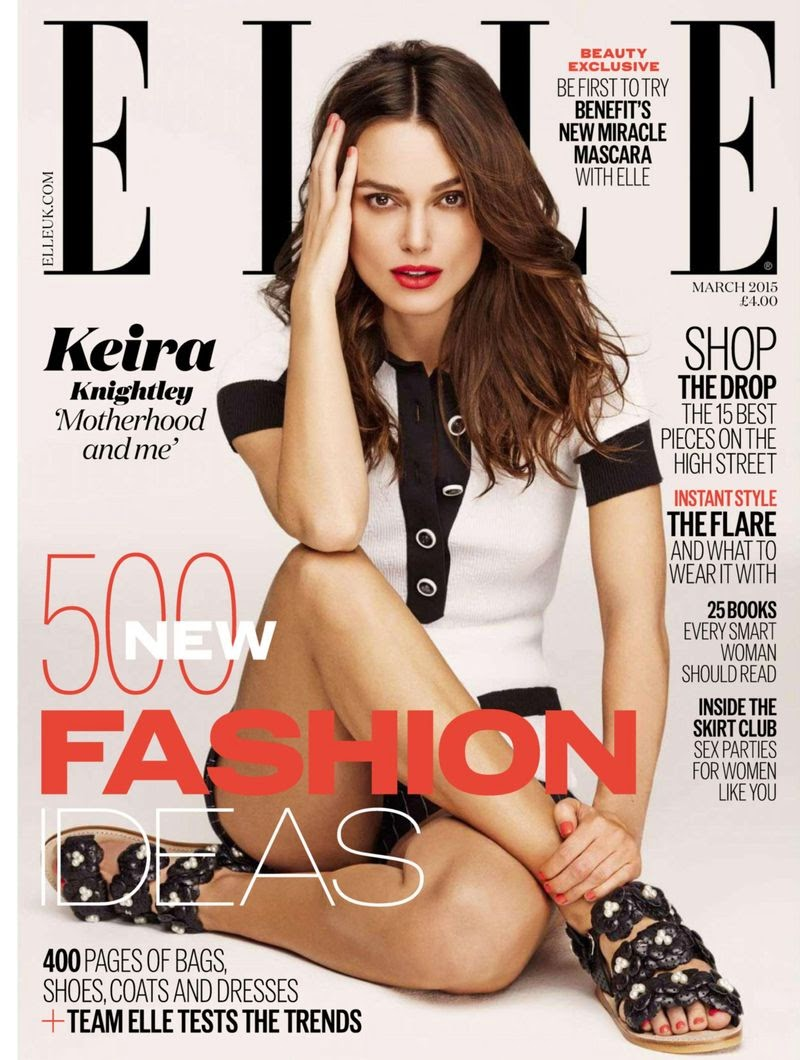 Actress: Keira Knightley by Mariano Vivanco for Elle, UK