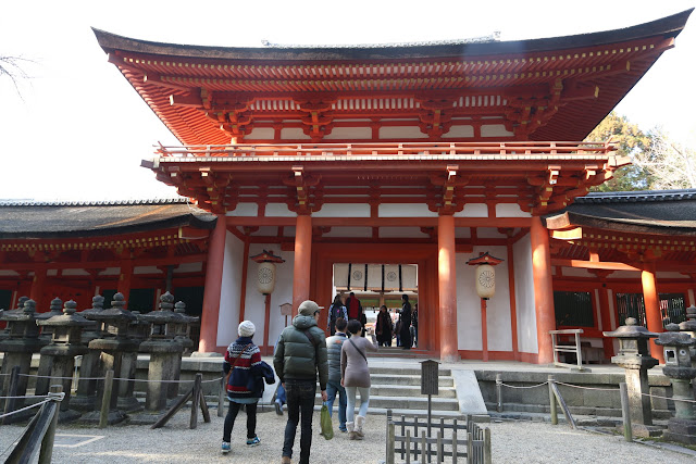 Minamimon Kasuga Taisha Shrine is recognized as a World Heritage Site as part of  Historic Monuments of Ancient Nara by UNESCO in Japan